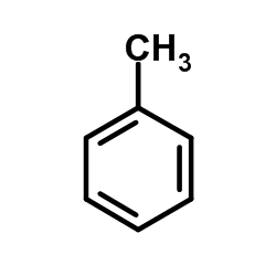 toluene chemical structure 2D